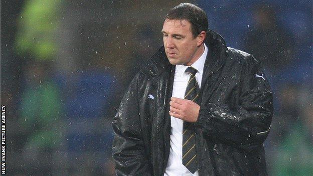 Boss Malky Mackay was disappointed with his Cardiff's defending against Blackpool