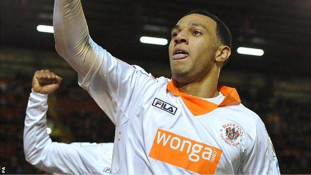 Blackpool's Matt Phillips