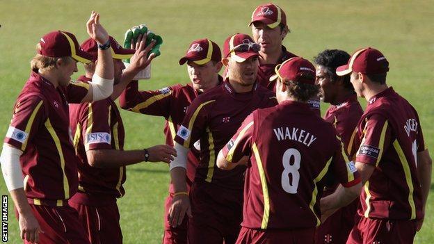 Northants cricketers