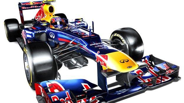 Red Bull's RB8
