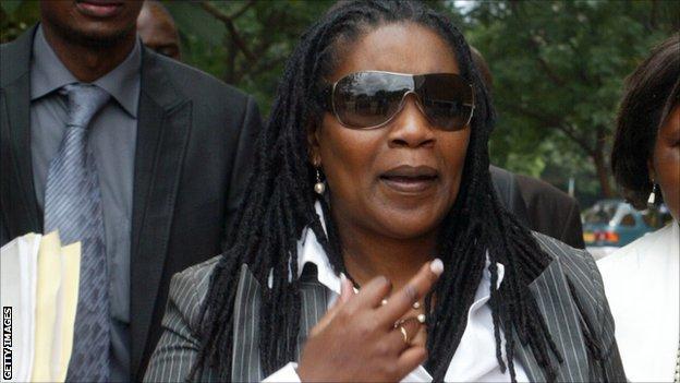 Henrietta Rushwaya is the former chief executive of the Zimbabwe Football Association (Zifa)