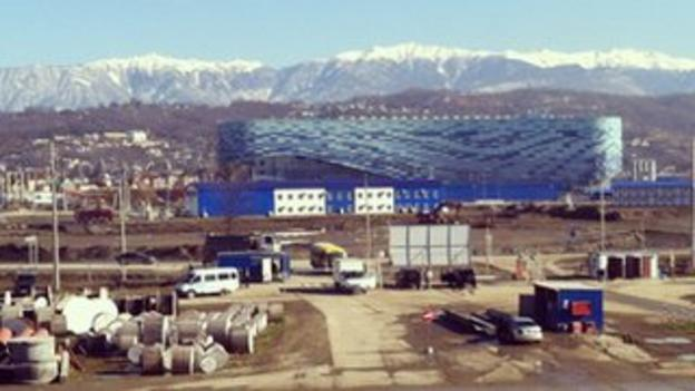 Almost all Sochi venues are on time with 19,000 construction workers employed