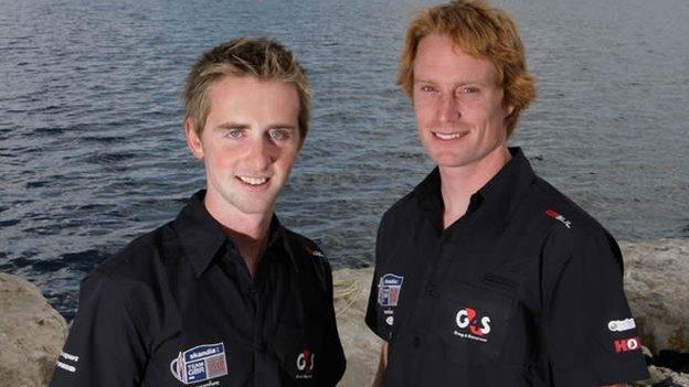 Stevie Morrison and Ben Rhodes