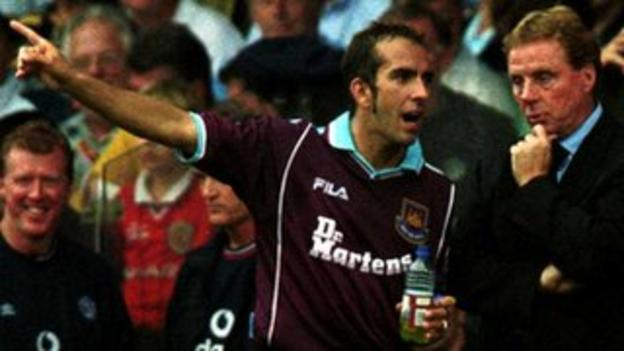 Redknapp had to keep Paolo di Canio happy during his time as West Ham boss