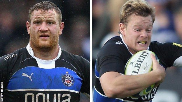 Ross Batty (l) and Chris Cook