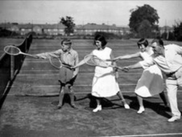 Tennis and Golf in Suburbia