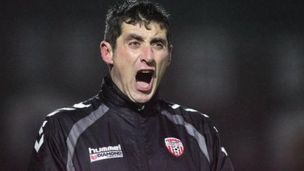 Derry boss Declan Devine