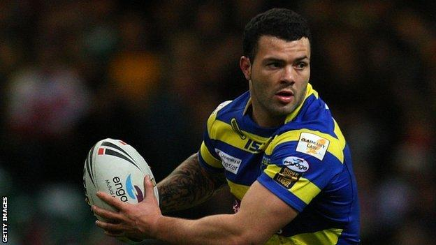 Warrington's Chris Bridge