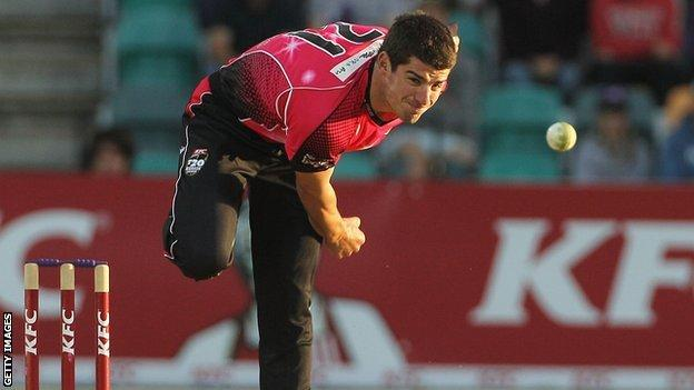 Moises Henriques is an all-rounder who has played for sides including Mumbai Indians, New South Wales and Sydney Sixers