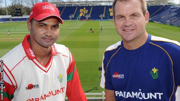 Alviro Petersen and Matthew Mott