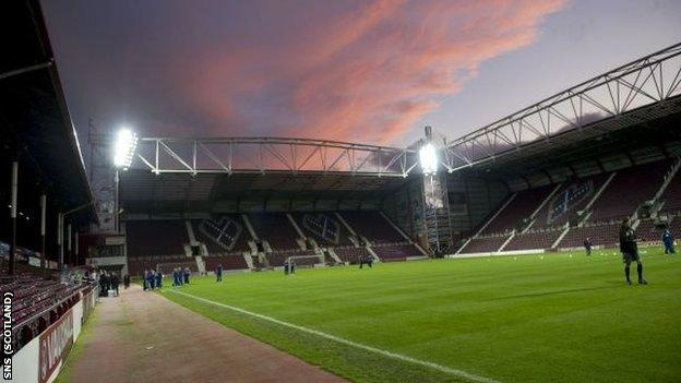 Storm clouds have been gathering over Tynecastle Stadium