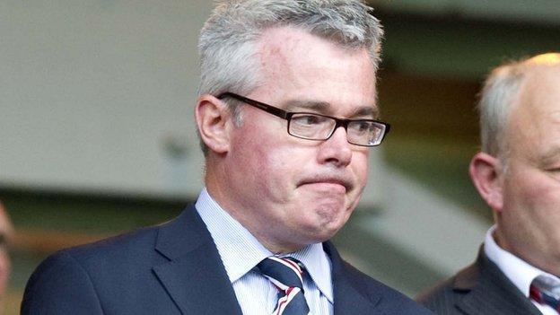 Former Rangers director Paul Murray