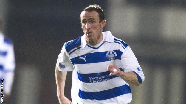 Morton goalscorer David O'Brien