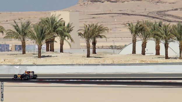 The Bahrain Grand Prix was cancelled in 2011