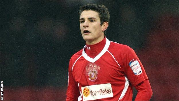 Crewe Alexandra midfielder Ashley Westwood