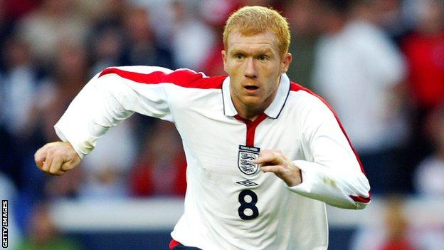 Paul Scholes made 66 appearances for England, the last of which came in 2004