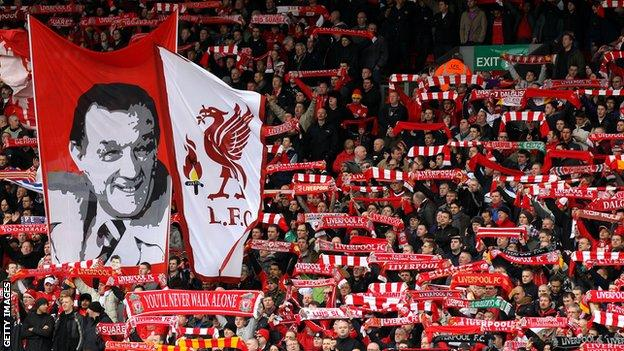 Liverpool supporters