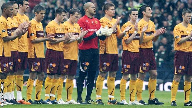 Motherwell reached the Scottish Cup final last season