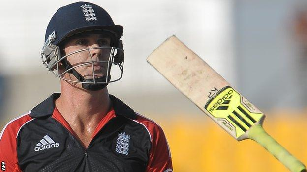 Kevin Pietersen has struggled for form in the one-day series against Pakistan