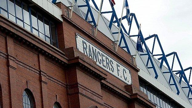 Rangers are in administration