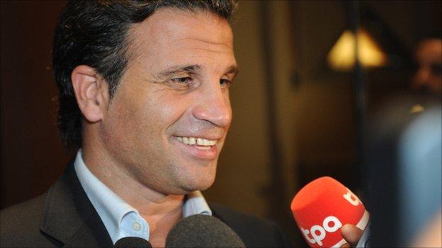 Paulo Duarte has been given his marching orders