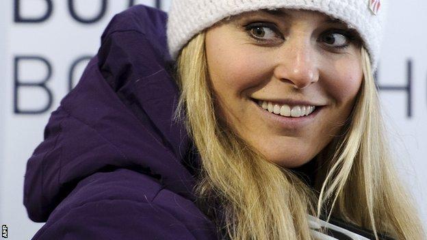 American skier Lindsay Vonn