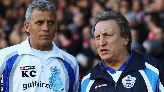 Keith Curle (left) and Neil Warnock