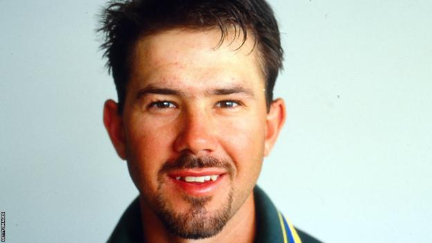 Ricky Ponting at the start of his career