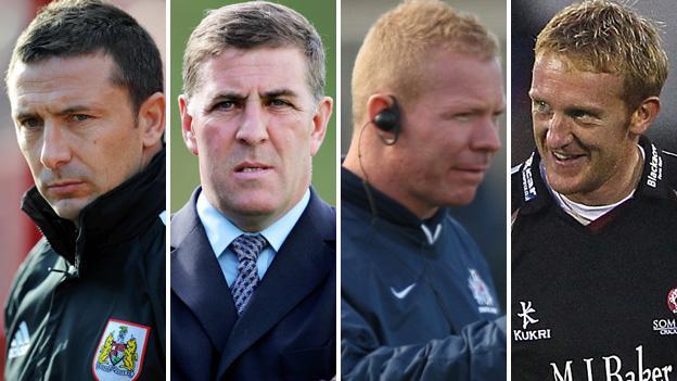 Derek McInnes, Mark McGhee, Liam Middleton and Steve Kirby