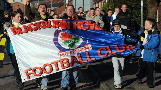 Blackburn protest