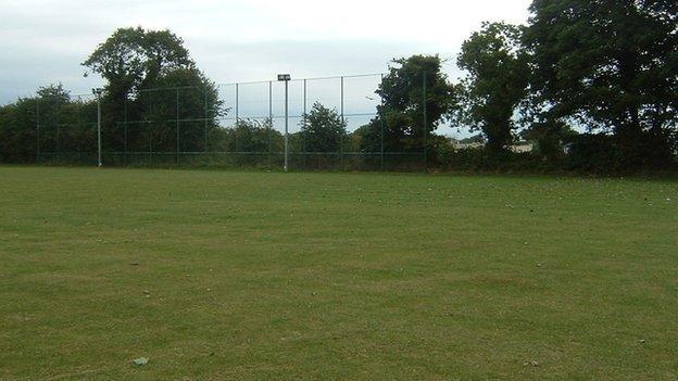 St Martin/SCF's home pitch