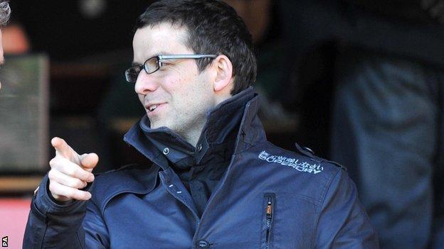 Portsmouth chief executive David Lampitt leaves club