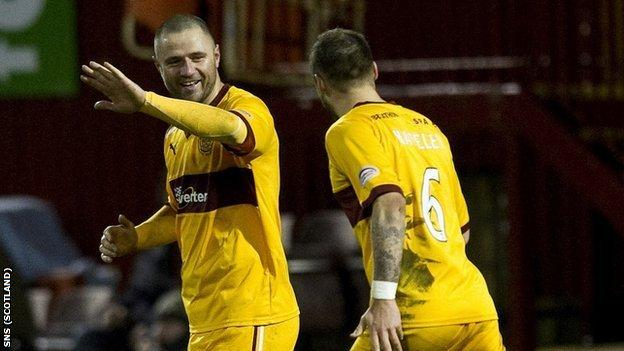 Michael Higdon and Tom Hateley
