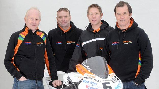 Padgetts MMCG Racing team