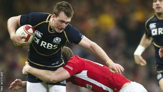 Scotland full-back Stuart Hogg
