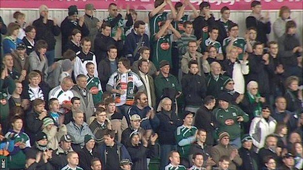 Plymouth Argyle fans