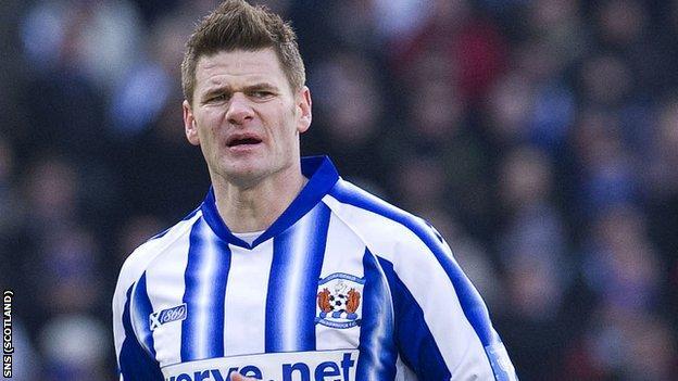 Kilmarnock defender Michael Nelson