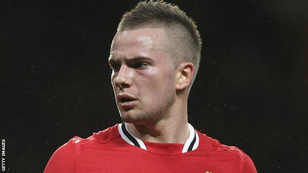 Tom Cleverley of Manchester United