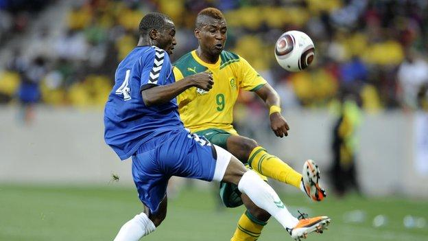 Mattsson's last game in charge was for Sierra Leone against South Africa