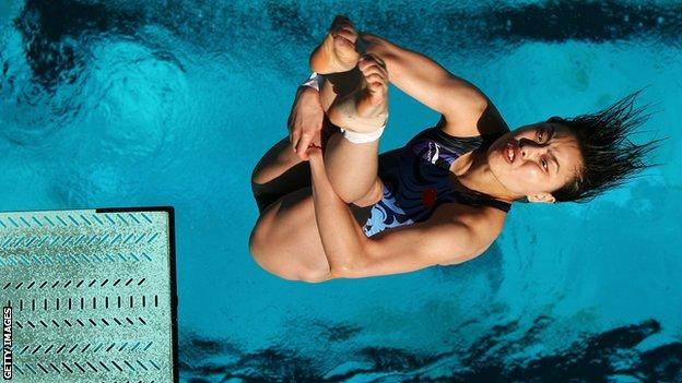Chinese diver Wu Minxia