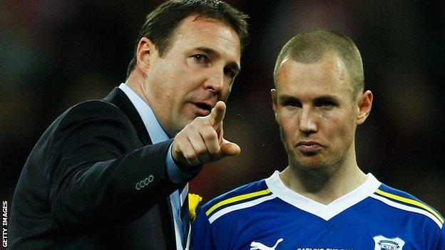 Cardiff City boss Malky Mackay