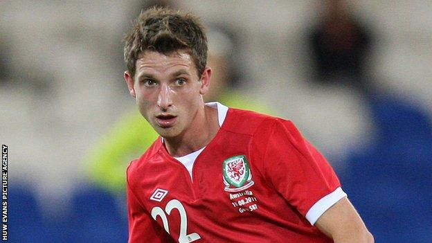 Joe Allen has won six Wales caps since making his debut in 2009