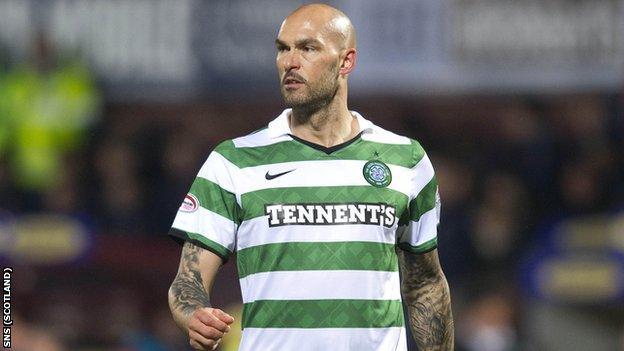 Celtic defender Daniel Majstorovic