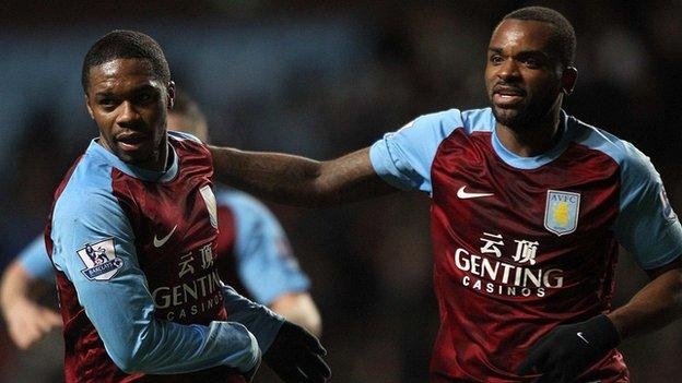 Charles N'Zogbia and Darren Bent