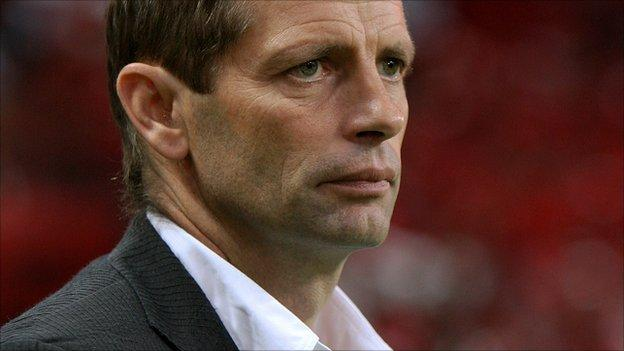 Mozambique's German coach Gert Engels