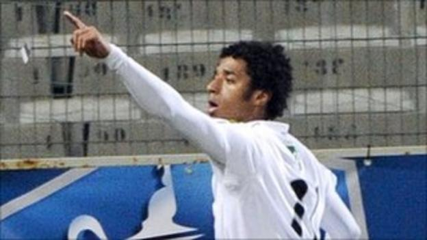 Ryan Mendes opened the scoring for Cape Verde in Madagascar