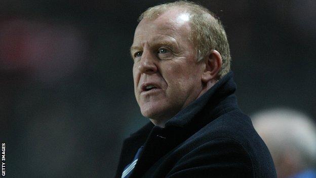 Sheffield Wednesday sack Gary Megson
