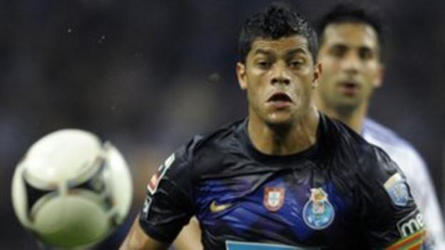 Porto striker Hulk