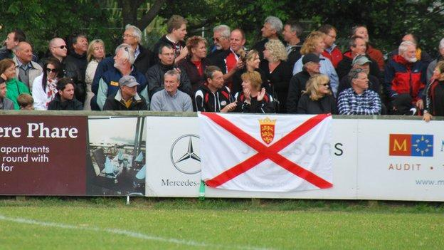 Jersey Rugby Club fans