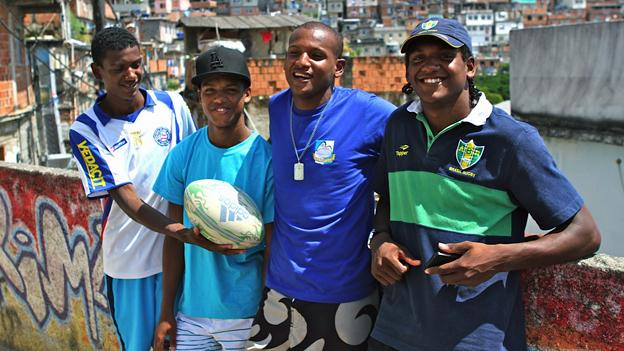 Rio rugby players the Paixao brothers